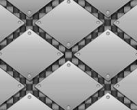 Carbone et métal illustration de vecteur