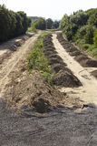 Carbone molle - precedentemente autostrada A4 vicino a Merzenich Immagini Stock Libere da Diritti
