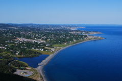 Carbonear Town Scenic Royalty Free Stock Photography