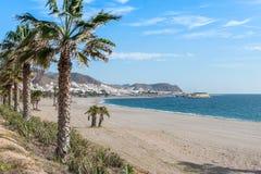 Carboneras Beach Stock Photography