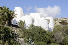 Carboneras, cabo de gata, andalusia, spain, europe,  modern house Stock Photo