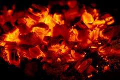 Carbones Foto de archivo libre de regalías