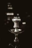 Carbones calientes de la cachimba para fumar Imagenes de archivo