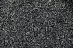 Carbones negros naturales para el fondo Carbones industriales Fotografía de archivo libre de regalías