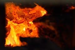 Carboni in tensione Fotografia Stock Libera da Diritti