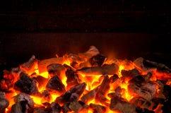 Carboni in tensione Fotografia Stock