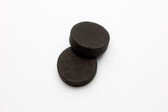Carbonio assorbente fotografie stock