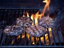 Carbonizar-grelhado fotografia de stock