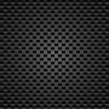 Carbono escuro realístico Imagem de Stock Royalty Free