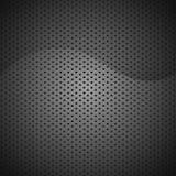 Carbono preto abstrato do fundo da textura Imagens de Stock Royalty Free