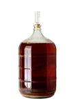 Carboy заквашивать пива домашнего brew Стоковые Фото