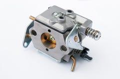 Carburador em um fundo branco Imagens de Stock