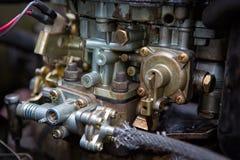 Carburador sucio Imágenes de archivo libres de regalías