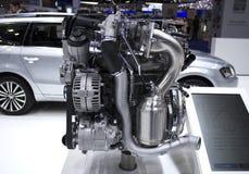 Carburant d'eco de moteur de voiture Photographie stock