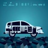 Carburant pour votre voiture Photographie stock libre de droits