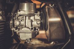 Carburateur de moto Photos stock