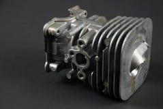 Двигатель и carburator Стоковое Изображение