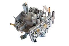 Carburator voor auto geïsoleerde Royalty-vrije Stock Foto's