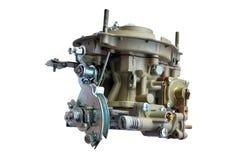 Carburator voor auto geïsoleerde Stock Afbeelding