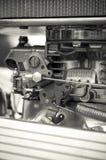 Carburetor. Closeup on a high performance car Royalty Free Stock Photos