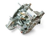 Carburetor. From car engine, isolated on white Stock Image