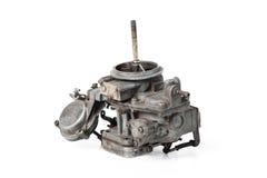 Carburetor. Closeup details of old and dirty carburetor Royalty Free Stock Image