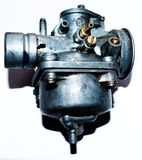 Carburetor for many scooter types. Simply scooter carburetor without choke Stock Photo