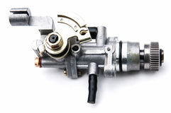 Carburetor on a white background Stock Images