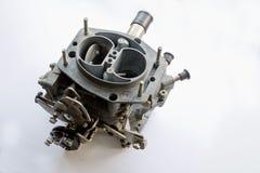 Carburetor. On white background closeup shot Royalty Free Stock Images