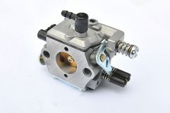 Carburettor on a white background Stock Photos