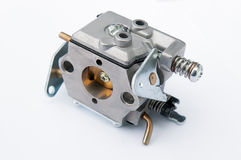 Carburettor on a white background Stock Images