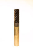 Carburo de las flautas del molino de extremo seis cubierto Imágenes de archivo libres de regalías