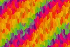 Carcaça oblíqua do projeto das listras do lilás amarelo cristalino abstrato do verde da onda da lona da Aurora do fundo ilustração do vetor