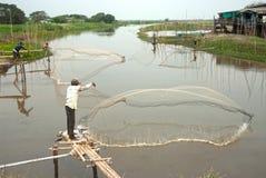 Carcaça tradicional do pescador Fotos de Stock