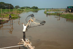 Carcaça tradicional do pescador Imagens de Stock Royalty Free