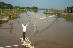 Carcaça tradicional do pescador Imagens de Stock