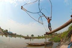 Carcaça tradicional do pescador Fotos de Stock Royalty Free