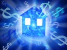 Carcaça cara dos bens imobiliários Foto de Stock Royalty Free