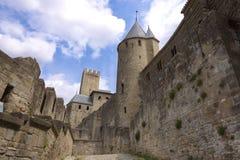 Carcasonne, Francja zdjęcie stock