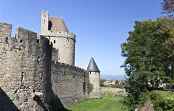 Carcassone Castle Stock Image