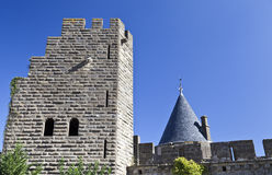 Carcassone Castle Royalty Free Stock Photo