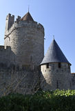 Carcassone Castle Stock Photo
