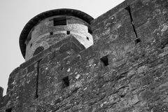 Carcassone fortress. Languedoc, France. Stock Photo