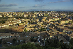 Carcassone, France. City of Carcassone is located in the deparment of Aude in France royalty free stock image