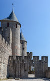 Carcassone Medieval City France Royalty Free Stock Images