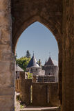 Carcassone Medieval City France Stock Photography