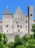 Carcassone Medieval City France Royalty Free Stock Photo