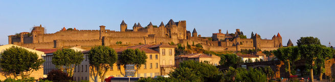 Carcassone pano Stock Photos