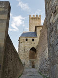 carcassonne城堡法国科教文组织 库存照片