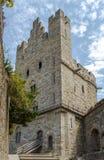 carcassonne城堡法国科教文组织 城堡 库存图片